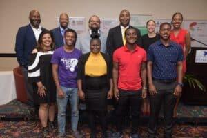 Organizers, speakers, facilitators of the Jamaica leg of the CSOD